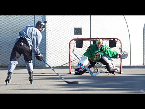 ROLLER HOCKEY SHOOTOUT | Henrique Lungfist VS Pavel Barber