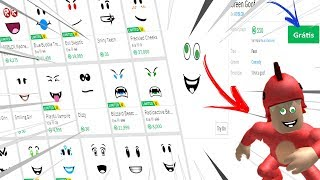 How to have any FREE FACE on ROBLOX