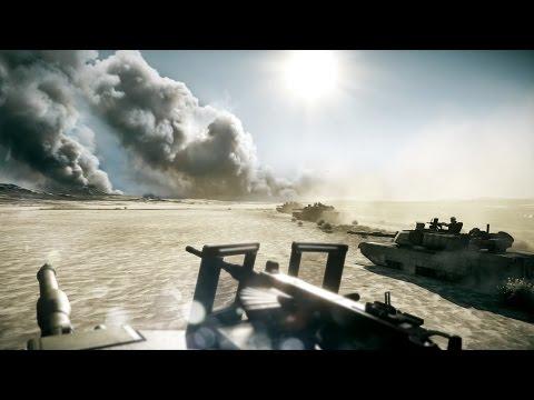 Самое Красивое Танковое Сражение в Играх на ПК ! Танки Абрамс и Т-72 Battlefield 3