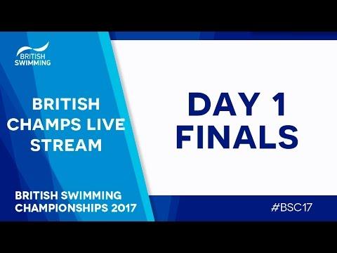 British Swimming Championships 2017 - Day 1 Finals