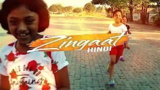 Zingaat Hindi | Dhadak | kids dance Choreography by ravina bhosale
