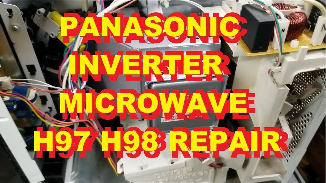 panasonic inverter microwave oven h97 h98 repair fix