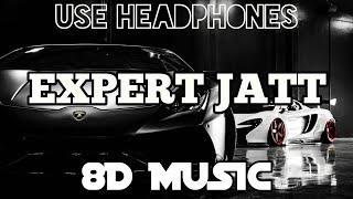 EXPERT JATT - NAWAB (8D Audio) | 8D Music