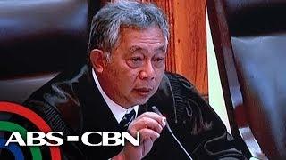 Pasya ng PET sa VP poll protest recount dinepensahan | TV Patrol