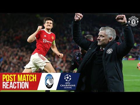 Solskjaer & Maguire react to comeback win | Manchester United 3-2 Atalanta | UEFA Champions League