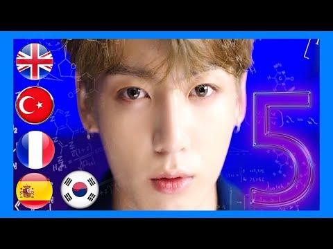 5 Dilde BTS DNA Türkçe // İngilizce // Korece // İspanyolca // Fransızca