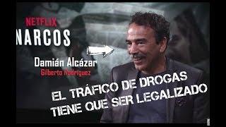 Narcos 3ra temporada: Entrevista a Damián Alcázar