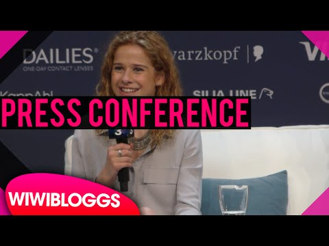 "Belgium press conference: Laura Tesoro ""What's The Pressure"" @ Eurovision 2016 