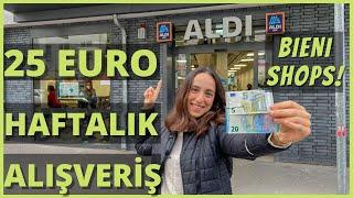 25 Euro ile Haftalık Market Alışverişi  - Almanya Market Fiyatları BieniShops