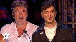Magician Amazes Simon Cowell on Britain's Got Talent & The Champions | Got Talent Global