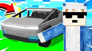 I Got My TESLA CYBERTRUCK in Minecraft!