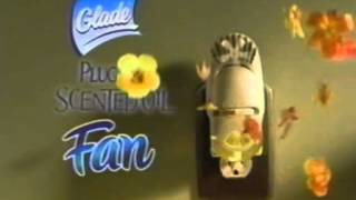 Glade plug-ins scented oil fan 2005 commercial dog