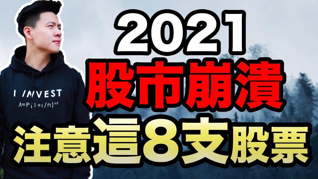 2021 股市崩盤必買美股   8支必須注意的黃金股票!