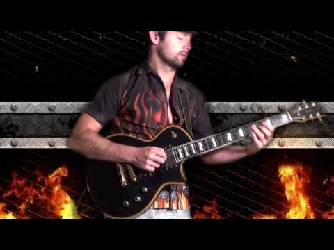 jazz fusion rock guitar, on fire, guitarist solois