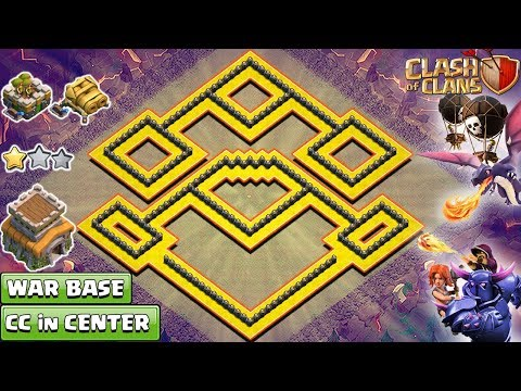 NEW Clash of Clans TH8 War Base 2018 that cover whole area | NEW TH8 Base – Clash of Clans 2018