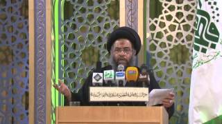 السید عادل العلوي 9 رمضان 1435 تفسیر دعاء مکارم الأخلاق