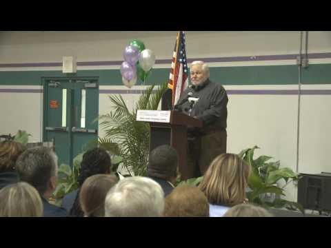 Deer Park Middle School Dedication