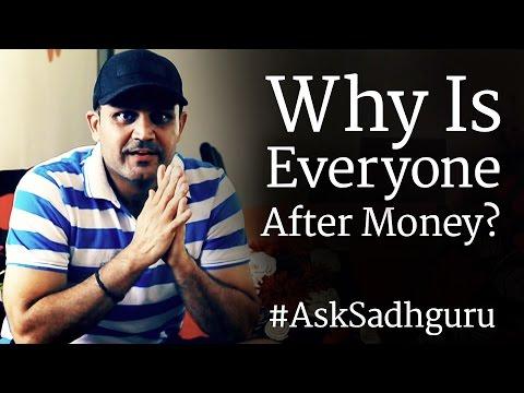 Virender Sehwag Asks Sadhguru - Why Is Everyone After Money?