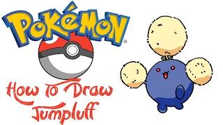 How To Draw Jumpluff (POKEMON)
