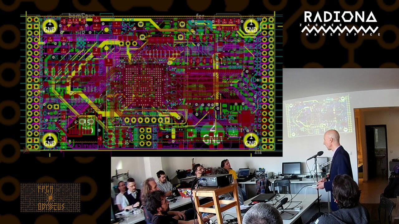 ULX3S Open source ECP5 FPGA development board presentation