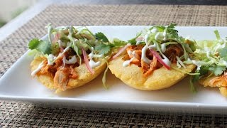 Learn how to make Puffy Taco Shells! Visit http://foodwishes.blogsp...