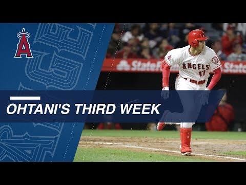 Ohtani's third week of the 2018 season