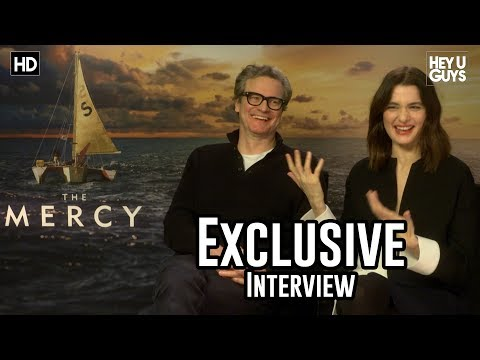 Colin Firth & Rachel Weisz  The Mercy Exclusive