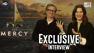 Colin Firth & Rachel Weisz - The Mercy Exclusive Interview