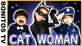 【SHORT FILM#29】Catwoman Observe the jewel caught the thief!