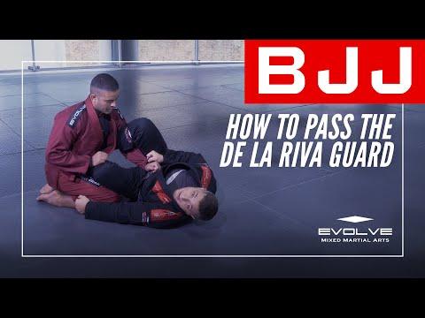 BJJ   How To Pass The De La Riva Guard