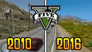 GTA 5 - 2010 vs 2016! (GTA 5 Beta vs Today)