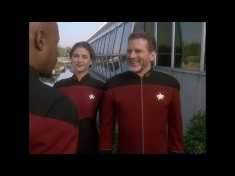 Star Trek DS9: Admiral Leyton is under a lot of stress