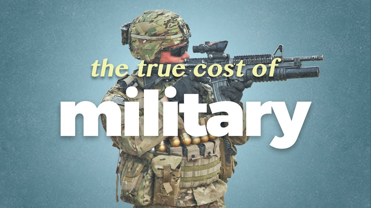 The true cost of the military-industrial complex.