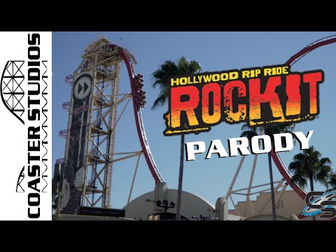 Coaster Parody: Hollywood Rip Ride Rockit at Universal Studios Florida
