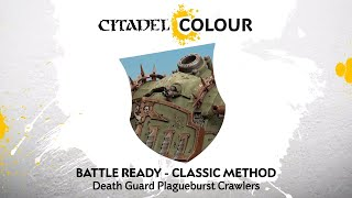 How to Paint: Death Guard Plagueburst Crawlers – Classic Method