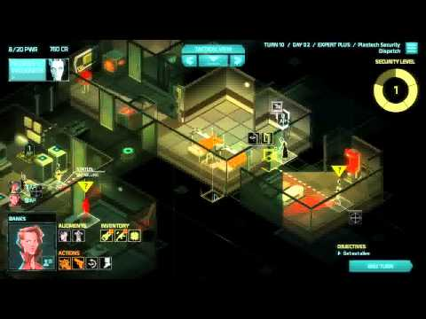 Invisible Inc Campaign 2-6 Expert Plus Ironman