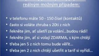 Nejlevněší mobilní tarif Networker - NOVINKA v ČR