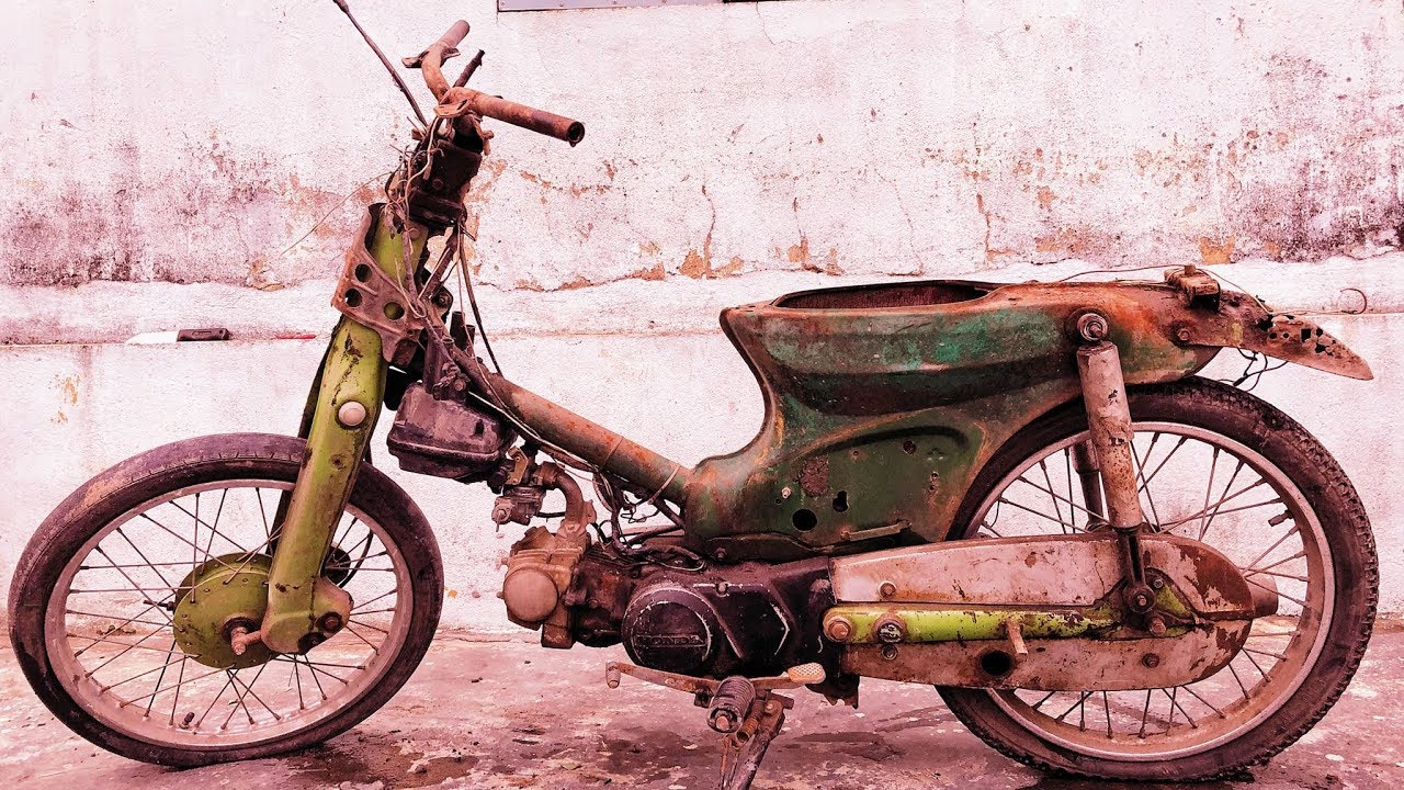 Restoration a 1982 Super cup motorcycle|Restore a forgotten American super cup motorcycle in Vietnam