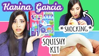 Karina Garcia DIY Squishy Kit Review *SHOCKING*