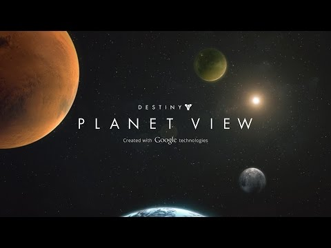 Explore Destiny game locations with Planet View