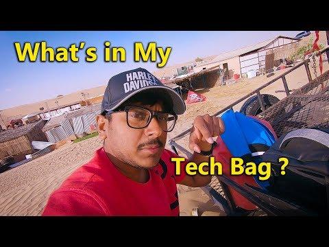 What's in My Tech Bag for Dubai Trip?
