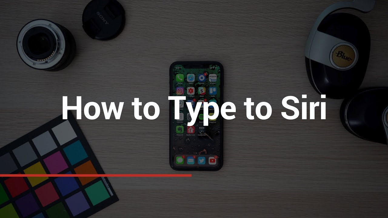 How To Type To Siri