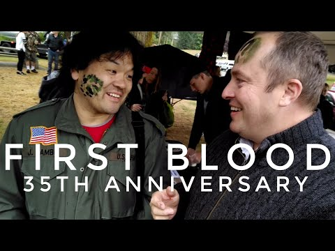 First Blood (1982) 35th Anniversary in Hope, BC