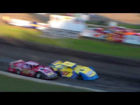 Late Model Heat 1 @ Hamilton County Speedway 07/15/17