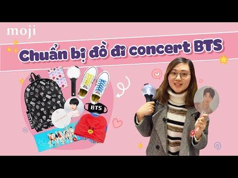 Moji Tour - KINH NGHIỆM ĐI CONCERT CỦA BTS - Moji Channel