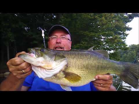 August Fishing At Marsh Creek Lake