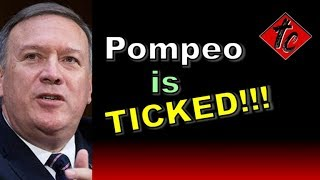 Truthification Chronicles Pompeo is TICKED!!!