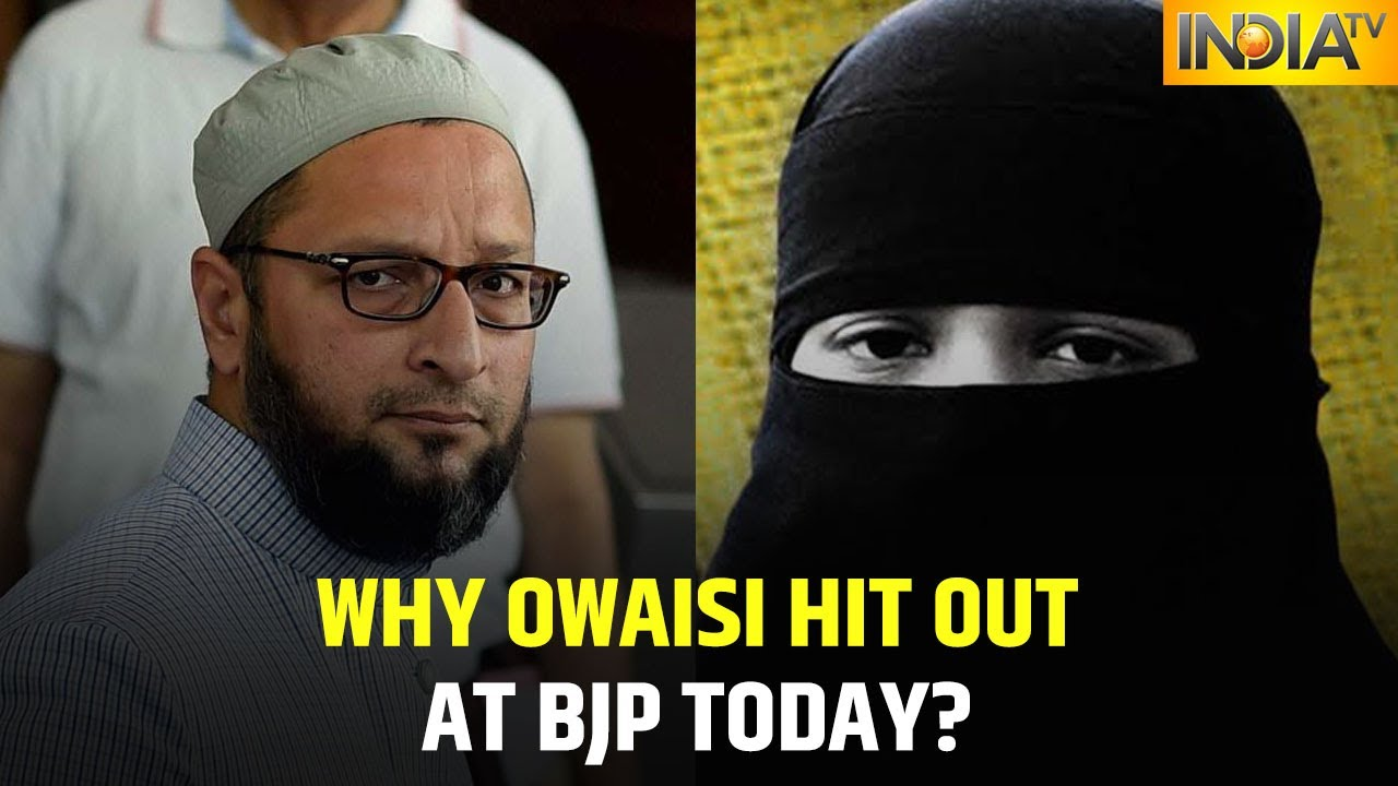 Why Did AIMIM Chief Asaduddin Owaisi Hit Out At BJP On Muslim Women Rights Day?