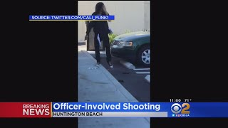 Suspect Shot By Police Outside Huntington Beach 7-Eleven