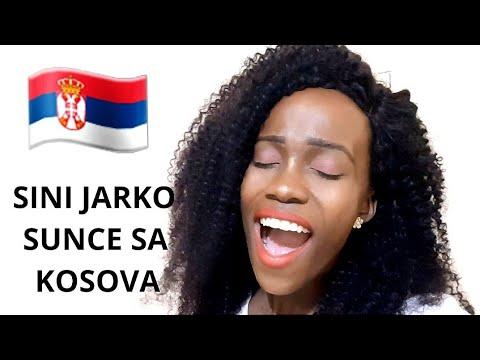 AFRICAN GIRL SINGS SINI JARKO SUNCE SA KOSOVA